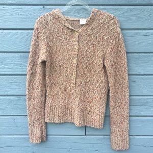 BKE Hooded Sweater Sz L